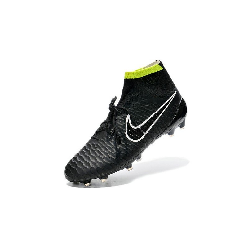 Top Nike Magista Obra FG ACC Mens Soccer Boots Black White