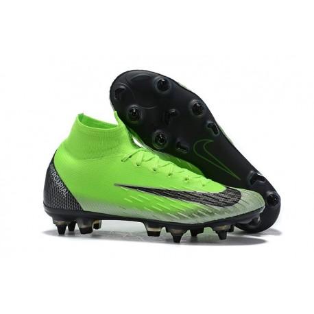 Cristiano Ronaldo Nike Mercurial Superfly 6 Elite AC SG-Pro Green Black