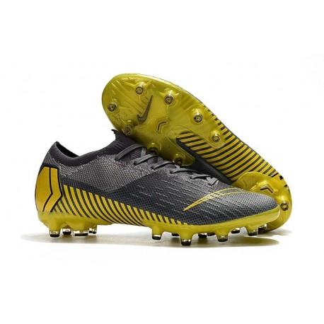 Nike Mercurial Vapor XII Elite AG-PRO Artificial-Grass Grey Yellow