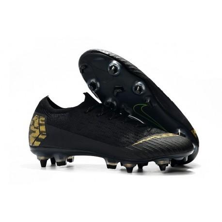 Nike Mercurial Vapor 12 Elite SG-Pro AC Black Gold