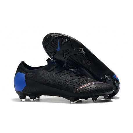 Nike Mercurial Vapor XII 360 Elite FG Shoes Black Blue Orange