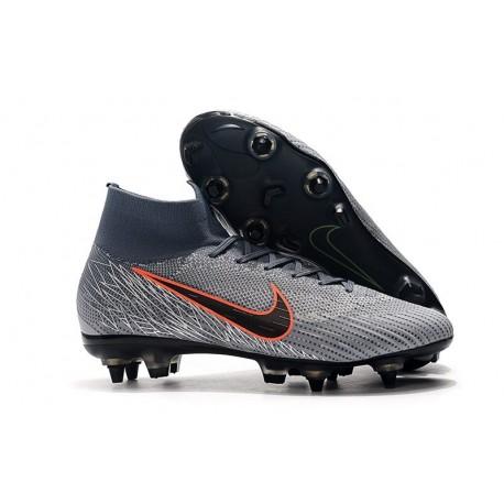 Nike Mercurial Superfly 6 Elite AC SG-Pro Cleats -Wolf Grey Black