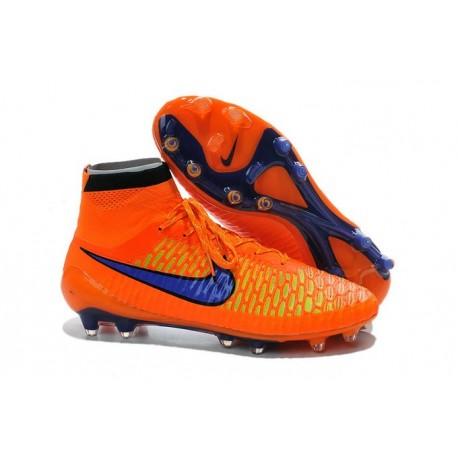 new style 4ef98 c5502 Top Nike Magista Obra FG ACC Mens Soccer Boots Orange Purple