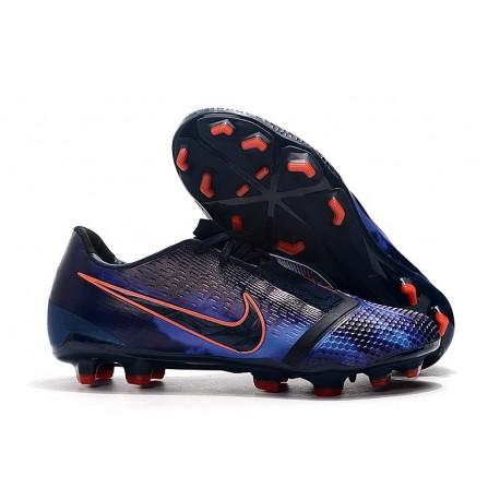 Nike Phantom VNM Elite FG Soccer Boots Obsidian White Black Racer Blue