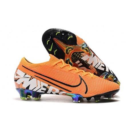 Nike Mercurial Vapor XIII Elite FG Soccer Boots Orange White