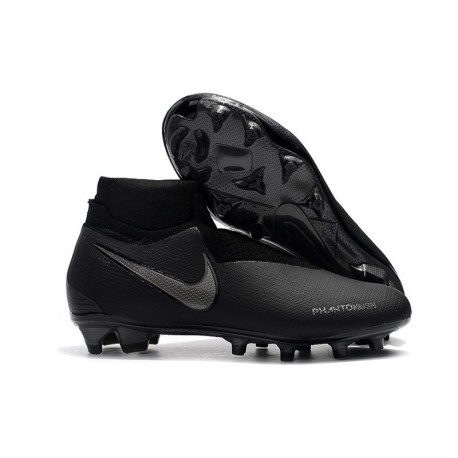 Nike Phantom Vision Elite DF Firm Ground Cleats All Black