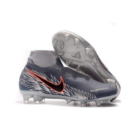 New Nike Phantom Vision Elite DF FG Armory Blue Black Crimson