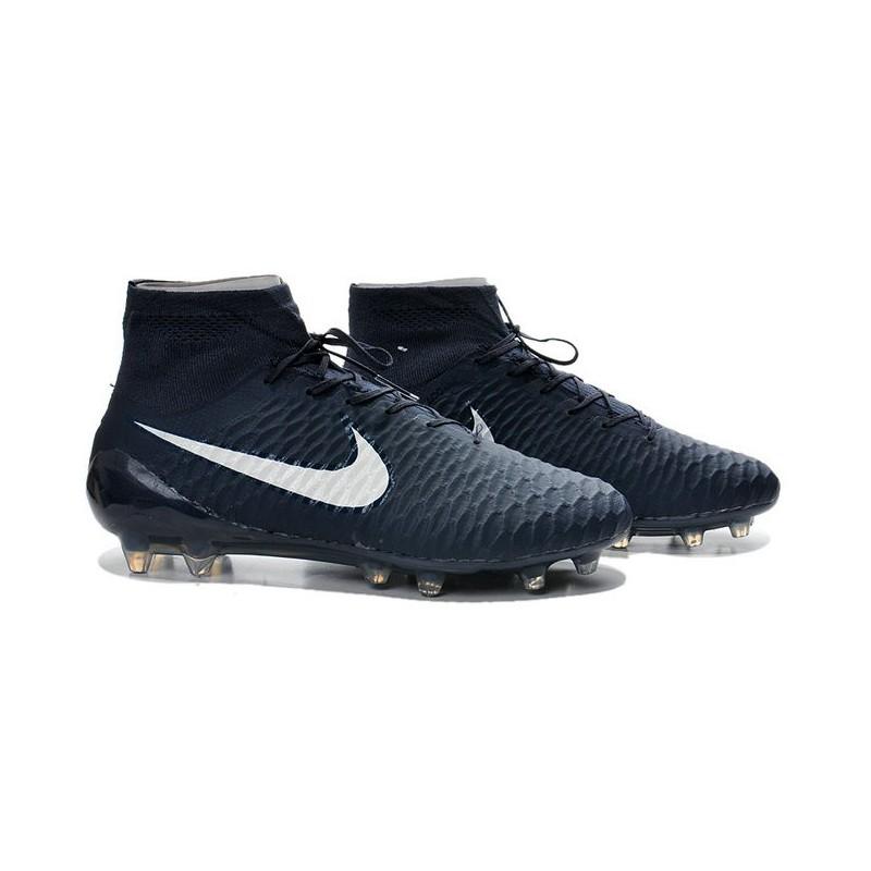 Nike New Men Football Shoes Magista Obra FG ACC Dark Blue White