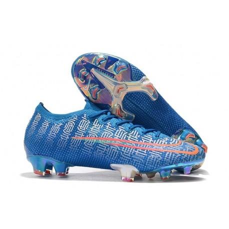 Nike Mercurial Vapor XIII Elite FG Soccer Boots Blue Red