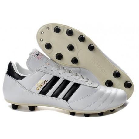 adidas Copa Mundial FG K-Leather Football Shoes in White
