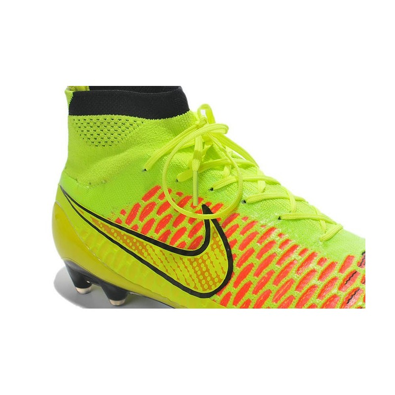 Nike New Men Football Shoes Magista Obra FG ACC Volt Gold Hyper Punch