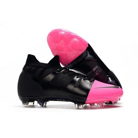 Nike Mercurial Superfly Greenspeed 360 FG Cleats Black Pink