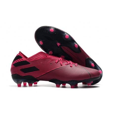 adidas Nemeziz 19.1 FG Soccer Cleats Shock Pink White Core Black