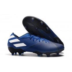 adidas Nemeziz 19.1 FG Soccer Cleats Blue White Core Black