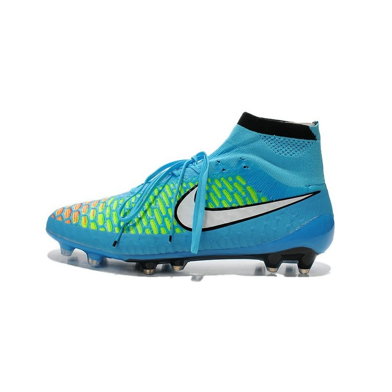 chaussures de séparation 47007 ab853 Nike New Men Football Shoes Magista Obra FG ACC Blue White ...