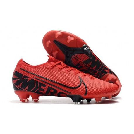 Nike Mercurial Vapor XIII Elite FG Soccer Boots Red Black