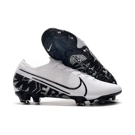 Nike Mercurial Vapor 13 Elite FG New Cleats White Black
