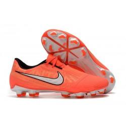 Nike Phantom VNM Elite FG Soccer Boots Bright Mango White