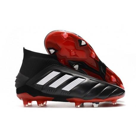 adidas Predator Mania 19+FG ADV Core Black White Red