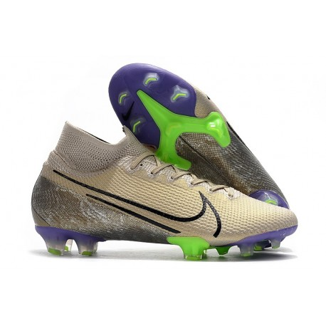 Nike Mercurial Superfly 7 Elite FG Soccer Cleats Desert Sand