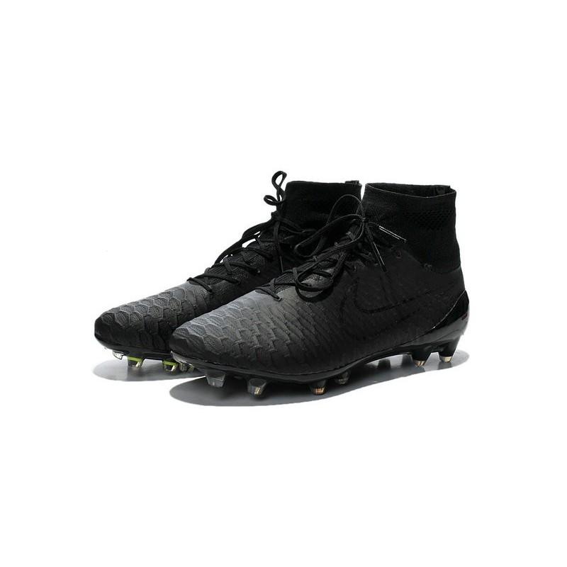 New 2015 Nike Magista Obra FG ACC Men Soccer Cleats All Black