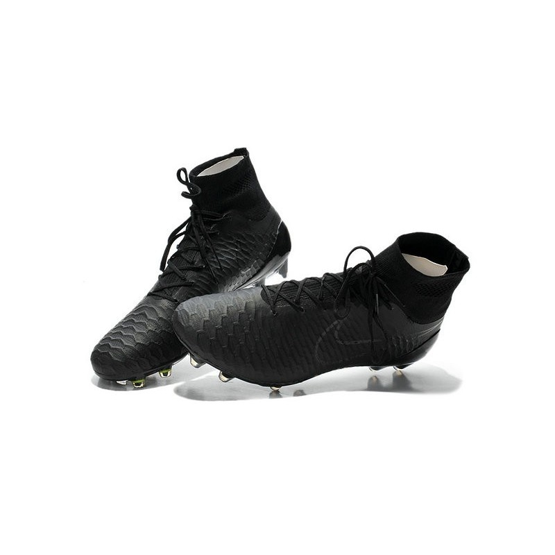 new 2015 nike magista obra fg acc men soccer cleats all black