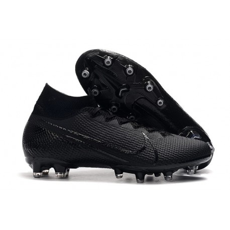 Nike Mercurial Superfly 7 Elite SE AG Black