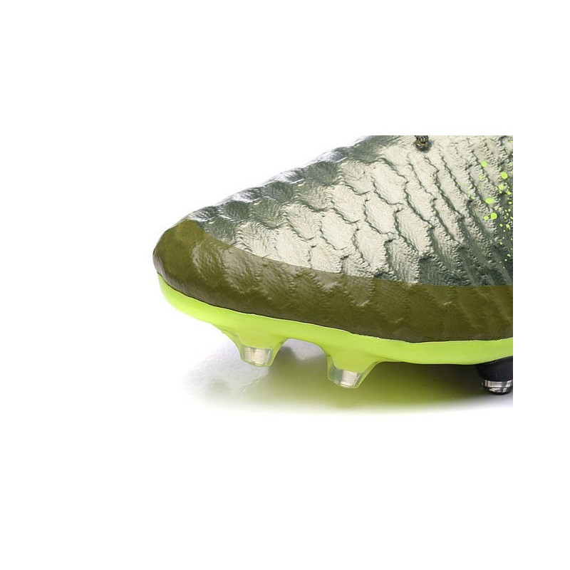 New 2015 Nike Magista Obra FG ACC Men Soccer Cleats Power Clash Green