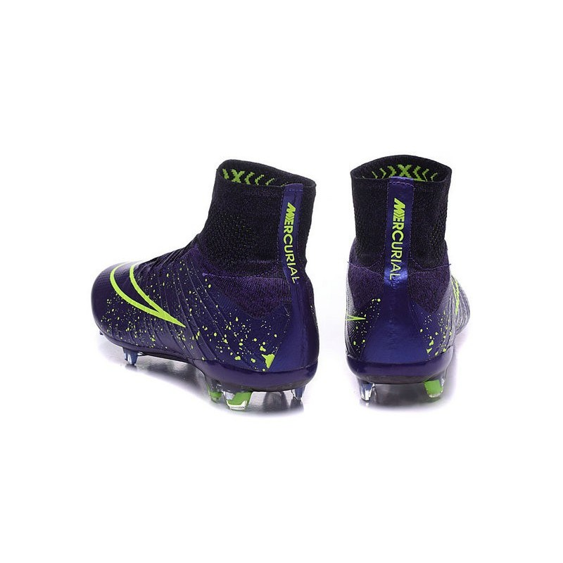 Nike 2015 Soccer Boot Mercurial Superfly 4 FG ACC in Purple