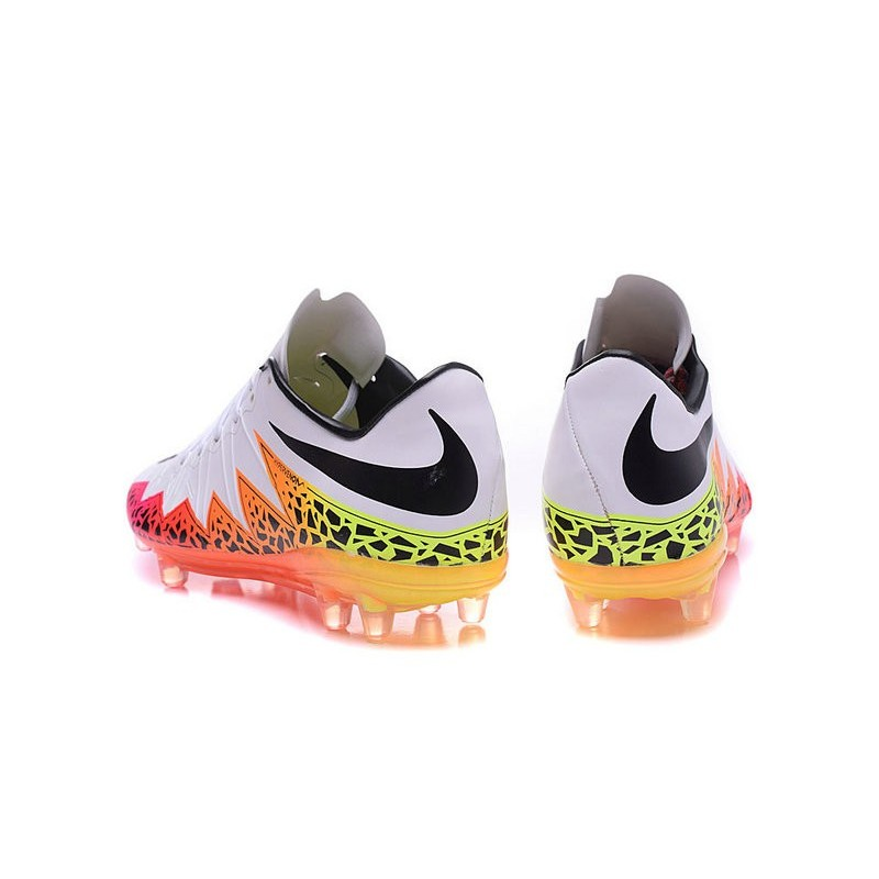 Nike HyperVenom Phantom FG ACC Neymar Shoes White Pink Black