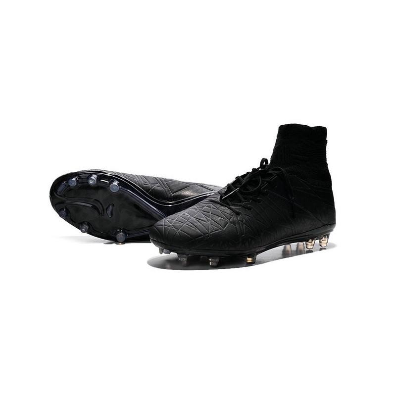 Nike 2015 Mens Boots Hypervenom Phantom II FG ACC Reflective Black