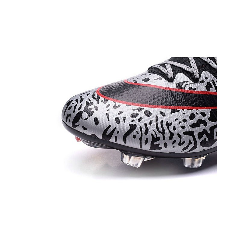 New Top Nike Mercurial Superfly Iv FG Cleat Black Red White