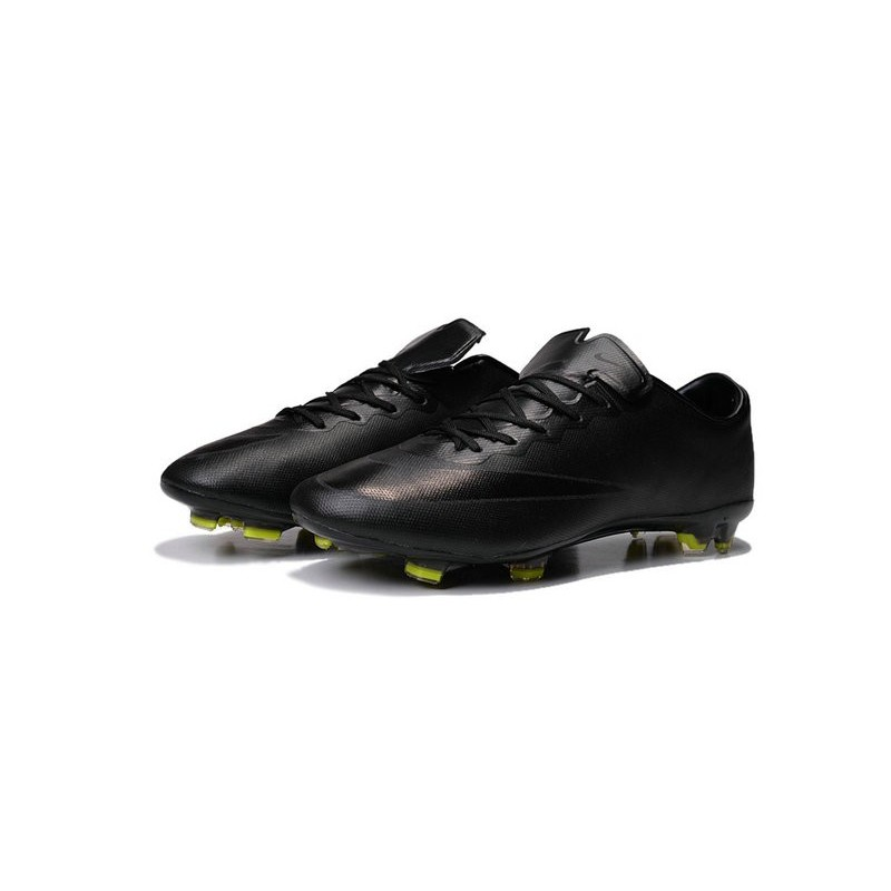 New Nike Mercurial Vapor 10 FG Football Boot in All Black