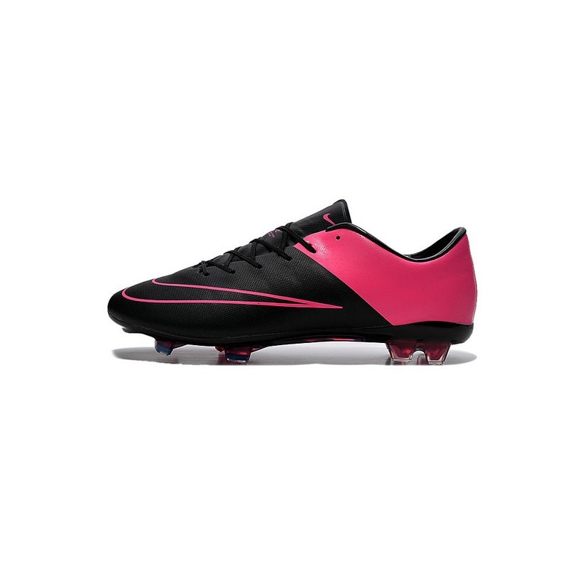 New Nike Mercurial Vapor 10 FG Football Boot Black Hyper Pink