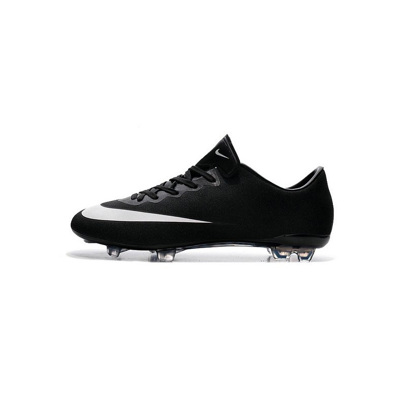 New Nike Mercurial Vapor X CR7 FG Football Boot Ronaldo Black White