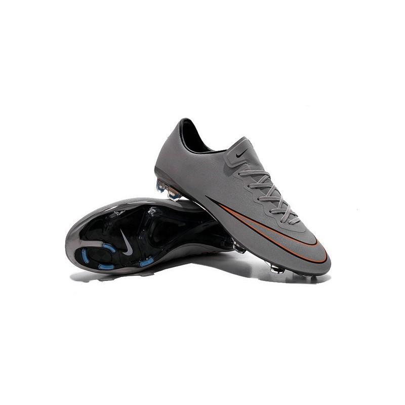 Ronaldo Nike Mercurial Vapor X CR7 FG Firm Ground Shoes Silver White Turq