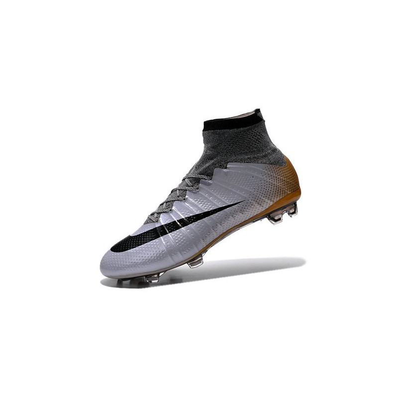 Top New Nike Mercurial Superfly Iv FG Football Cleats Urban Lilac Bright Mango Black