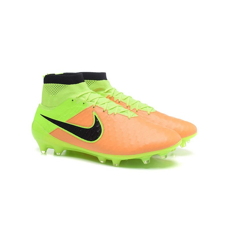 Nike 2016 Magista Obra FG ACC Football Shoes Yellow Black Volt