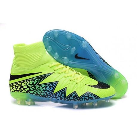Nike Hypervenom Phantom 2 FG ACC 2016 Soccer Shoes Volt Black Blue