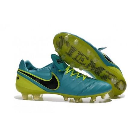 sale retailer bbb48 2ea51 New 2016 Nike Tiempo Legend 6 FG Kangaroo Leather Boots Blue ...