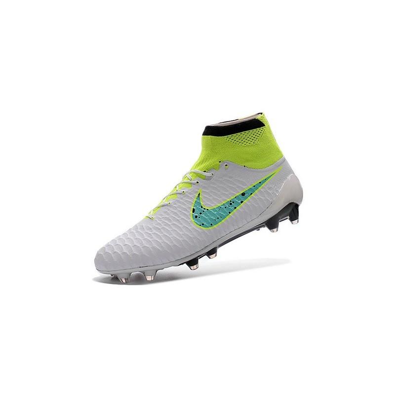 Top Football Boots 2016 Nike Magista Obra FG White Green