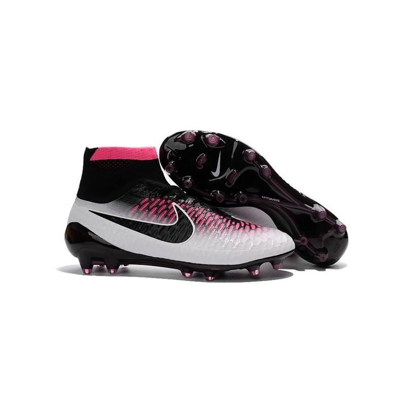 Top Football Boots 2016 Nike Magista Obra FG White Red Black