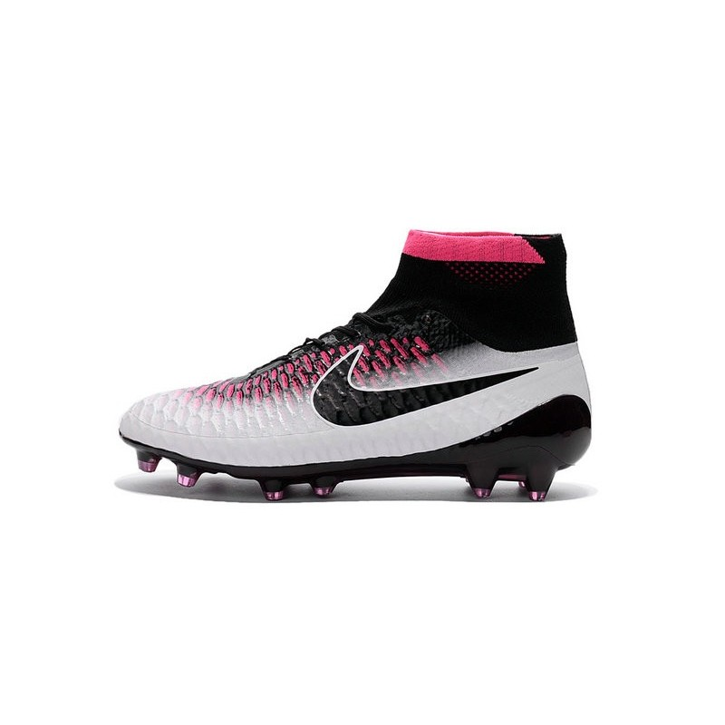 Top Football Boots 2016 Nike Magista Obra Fg White Red Black