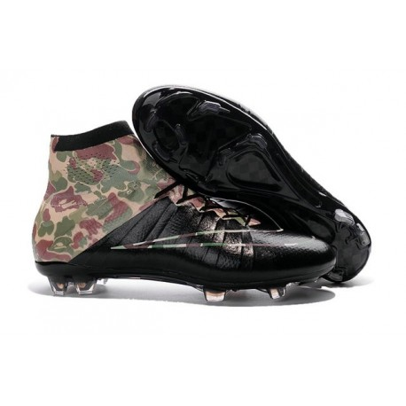 a75024c5b322 Cristiano Ronaldo Nike Mercurial Superfly 4 FG Shoes Camouflage Black