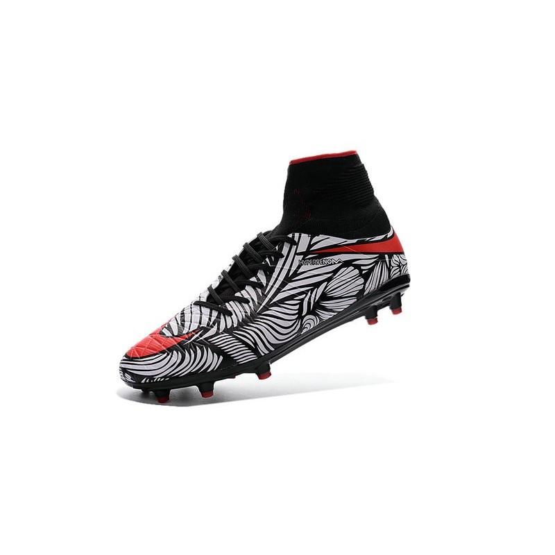 906871c5d91 Nike Hypervenom Phantom 2 FG ACC 2016 Soccer Shoes Neymar Black White Red  Maximize. Previous. Next