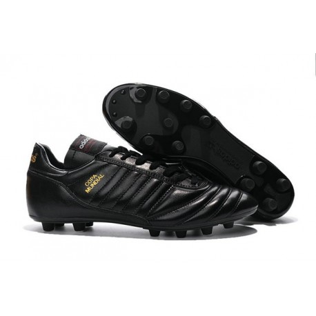 adidas Copa Mundial FG K-Leather Football Shoes Black Golden 84798f983