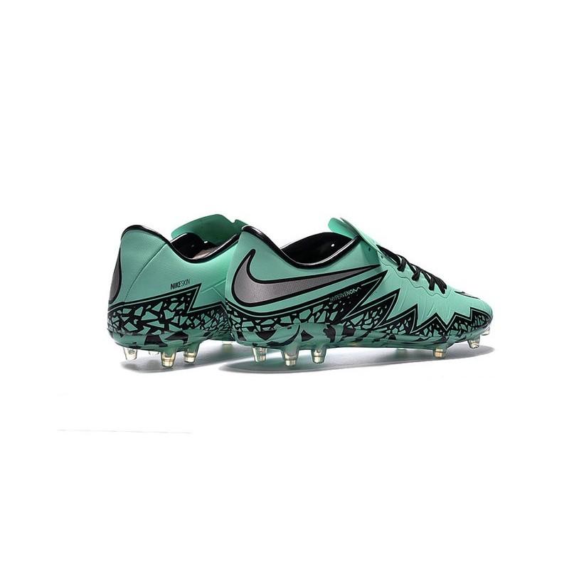 Nike Hypervenom Phinish FG ACC New 2016 Soccer Cleats Green Silver Black