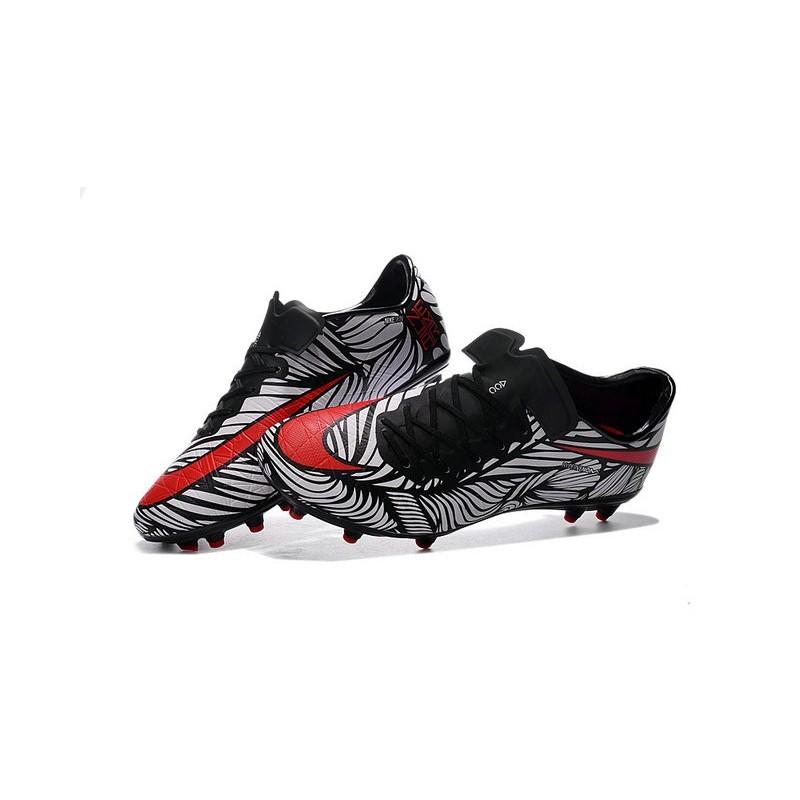 Nike Hypervenom Phinish FG ACC New 2016 Soccer Cleats Black Crimson White