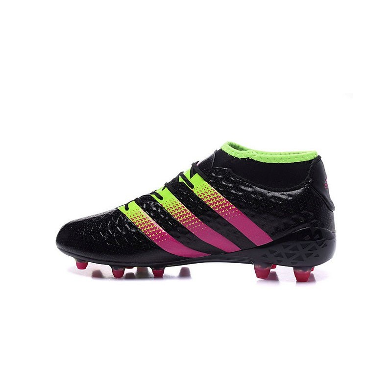 best website 48ef1 421e9 Men News adidas ACE 16.1 Primeknit FGAG Football Cleats Black Rose Green  Maximize. Previous. Next