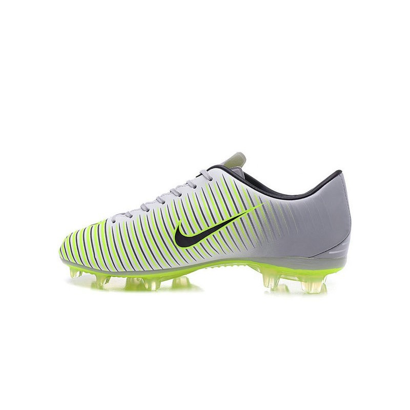 nike mercurial vapor 11 fg acc mens football shoes silver green black. Black Bedroom Furniture Sets. Home Design Ideas